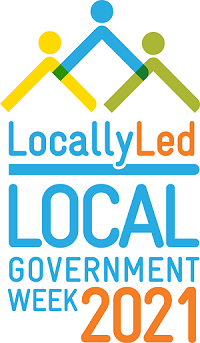 locally led local government week logo