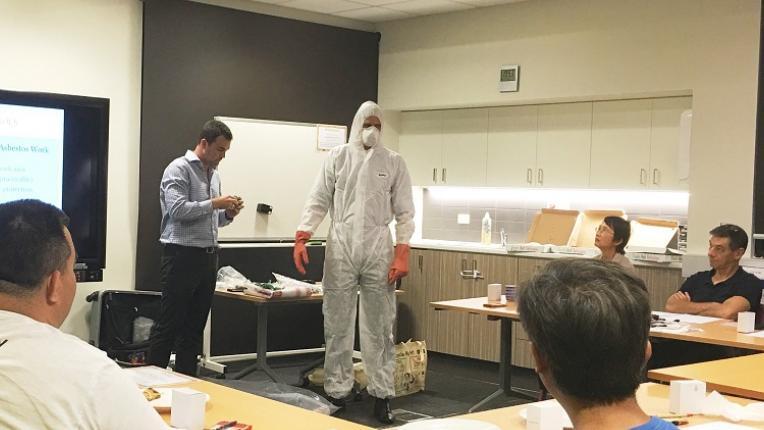 Asbestos workshop