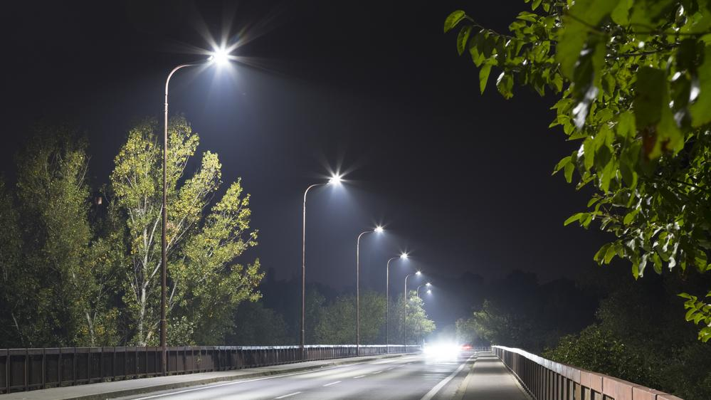 Report street light faults